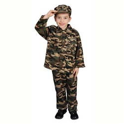 Deluxe Army Set Costume