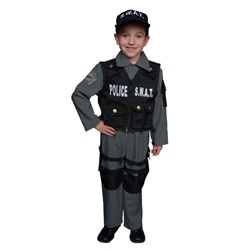 S.W.A.T. Police Officer Costume