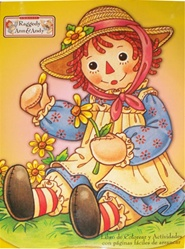 Raggedy Ann & Andy Coloring Book