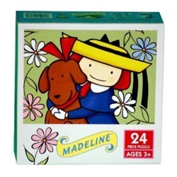 Madeline 24pc. Puzzle-Madeline and Genevieve