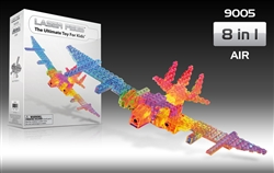 Laser Pegs: Kit 9005 AIR - Construct 8 Models in 1