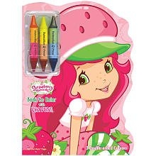 Strawberry Shortcake Book to Color with 3 Crayons