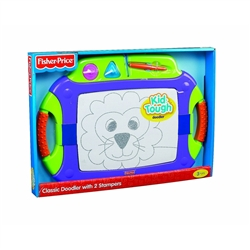 Fisher-Price Kid Tough Classic Doodler with 2 Stampers - Purple