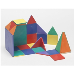100 pc. Colored Magna Tiles